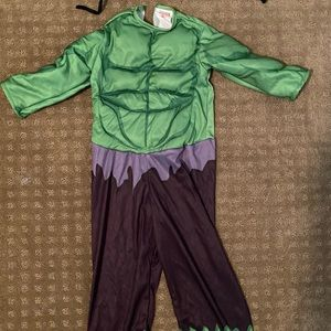 Incredible Hulk Costume, size 3/4